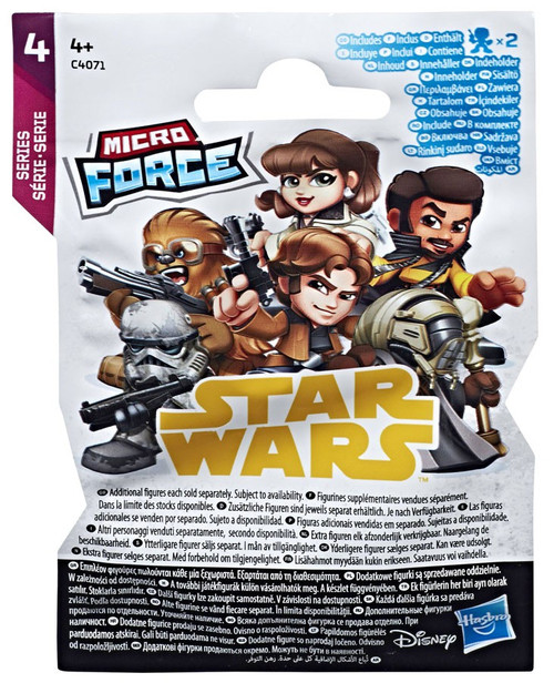 Star Wars Micro Force Series 4 Mystery Pack