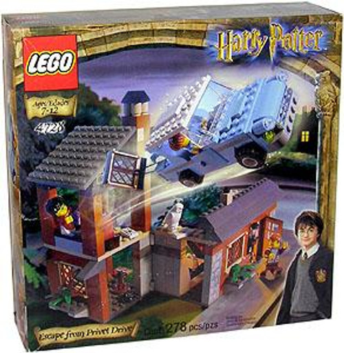LEGO Harry Potter Series 1 Sorcerer's Stone Escape From Privet Drive Set #4728