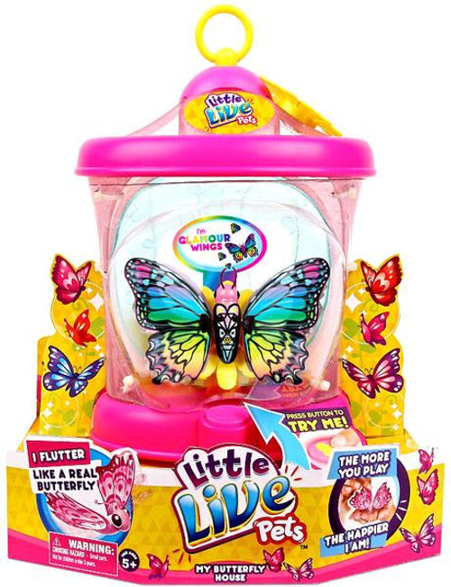 Little Live Pets My Butterfly Glamour Wings Starter Pack