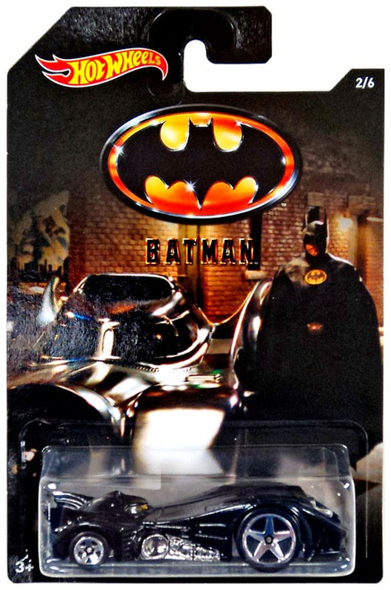 Hot Wheels Batman Batmobile Diecast Car #2/6 [1989]