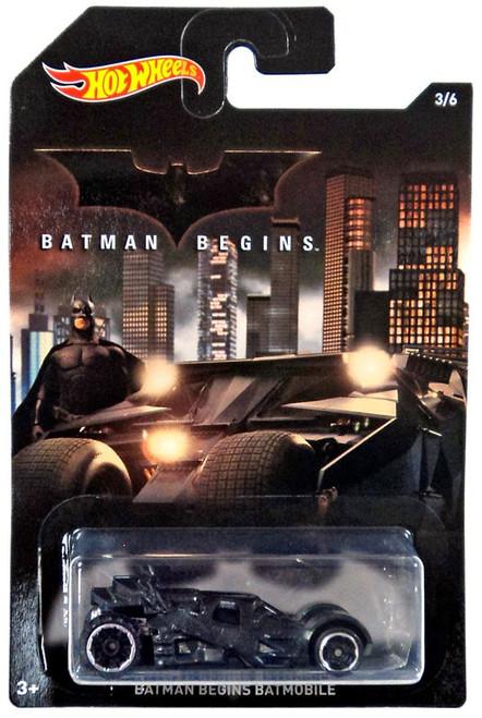 Hot Wheels Batman Begins Batmobile Diecast Car #3/6