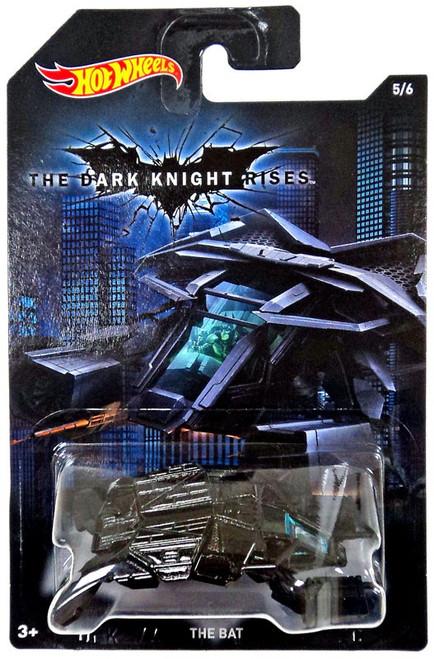 Hot Wheels The Dark Knight Rises The Bat Diecast Car #5/6 [5/6]