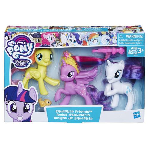 My Little Pony Equestria Girls Twilight Sparkle, Rarity & Fluttershy Figure