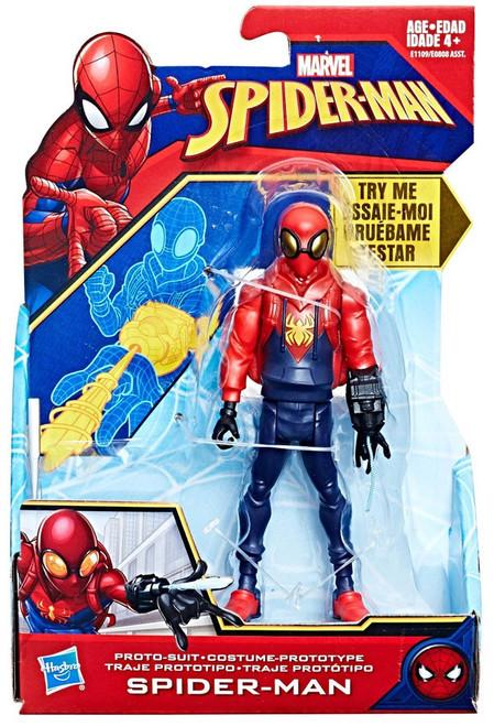 Marvel Quick Shot Proto Suit Spider-Man Action Figure
