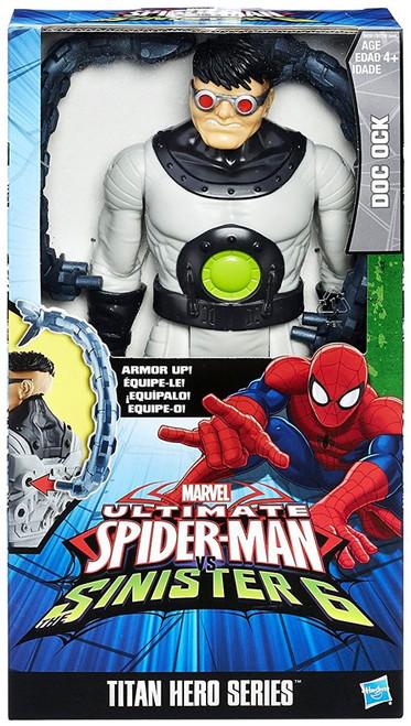Marvel Ultimate Spider-Man vs Sinister 6 Titan Hero Series Doc Ock Action Figure
