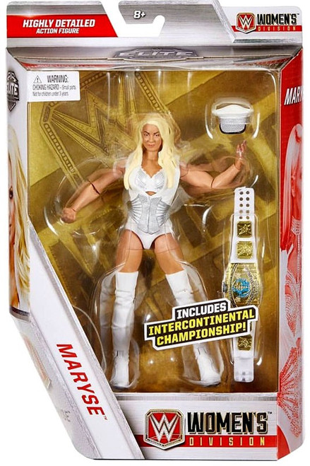 WWE Wrestling Elite Collection Women's Division Maryse Exclusive Action Figure