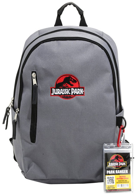 25th Anniversary Jurassic Park Gray Exclusive Backpack