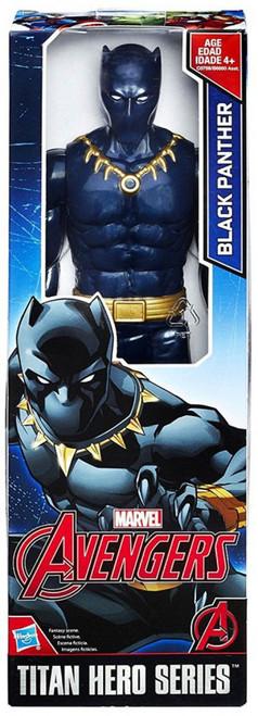 Marvel Avengers Titan Hero Series Black Panther Action Figure [2018]