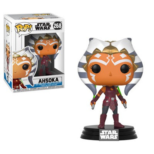 Funko The Clone Wars POP! Star Wars Ahsoka Tano Vinyl Bobble Head #268