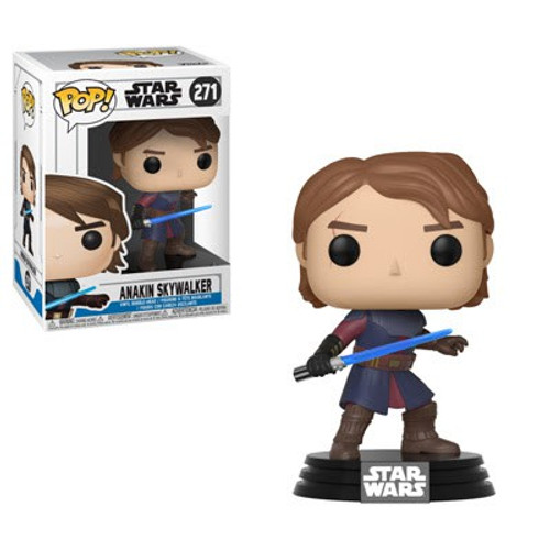 Funko The Clone Wars POP! Star Wars Anakin Skywalker Vinyl Bobble Head #271