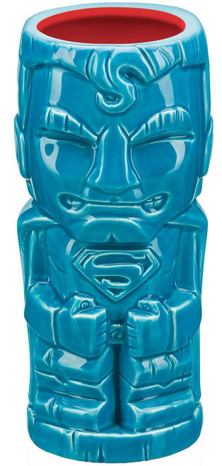 DC Geeki Tiki Superman 7-Inch Tiki Glass