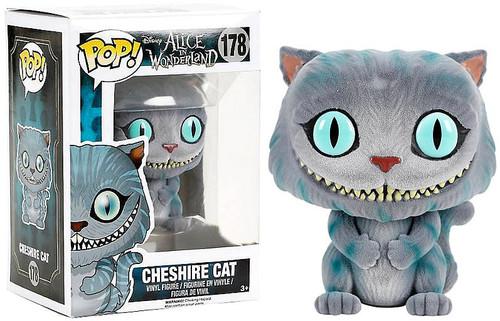 Funko Alice in Wonderland POP! Disney Cheshire Cat Exclusive Vinyl Figure #178 [Flocked, Damaged Package]