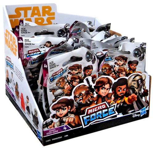 Star Wars Micro Force Series 4 Mystery Box [24 Packs]