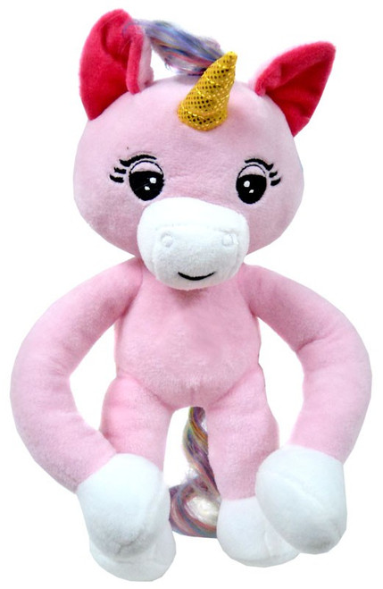 Fingerlings Pink Baby Unicorn 10-Inch Plush with Sound