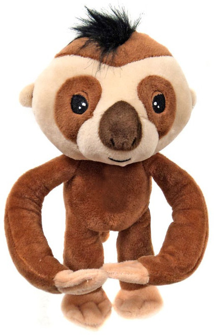 Fingerlings Brown Baby Sloth 10-Inch Plush with Sound