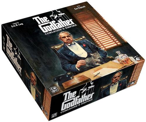 The Godfather Corleone's Empire Board Game