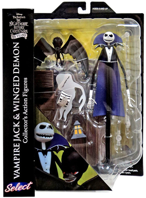 Nightmare Before Christmas Select Series 5 Vampire Jack & Winged Demon Action Figure