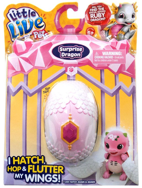 Little Live Pets Dragons Pink Mystery Figure Pack [Sparx OR Daisy - Completely RANDOM!]