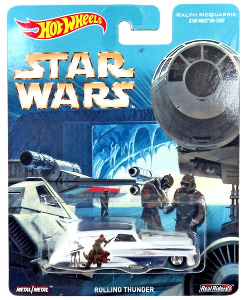 Hot Wheels Ralph McQuarrie Star Wars Rolling Thunder Die-Cast Car