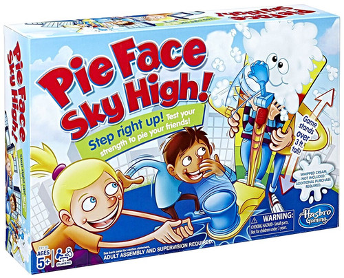 Pie Face Sky High Game [Damaged Package]