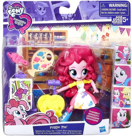 My Little Pony Equestria Girls Pinkie Pie Splashy Art Class 4.5-Inch Figure [Damaged Package]