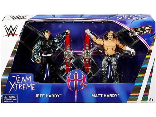 WWE Wrestling Battle Pack Epic Moments Jeff Hardy & Matt Hardy Action Figure 2-Pack [Hardy Boyz (Team Xtreme), Damaged Package]