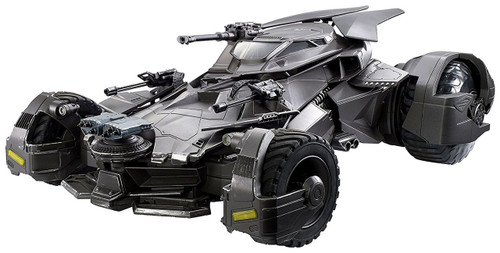 DC Justice League Movie Multiverse Batmobile Action Figure Vehicle [Damaged Package]