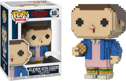 Funko Stranger Things POP! 8-Bit Eleven with Eggos Exclusive Vinyl Figure [Damaged Package]