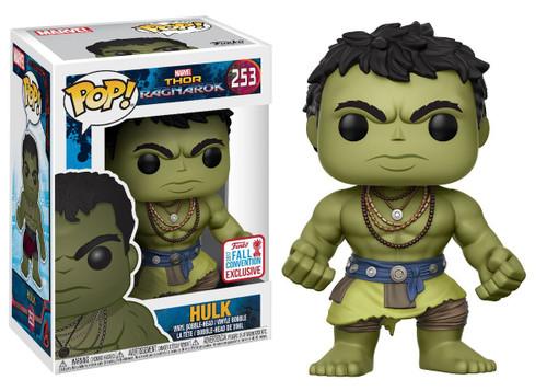 Funko Thor: Ragnarok POP! Marvel Hulk Exclusive Vinyl Bobble Head #253 [Casual, Damaged Package]