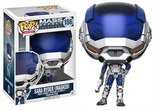 Funko Mass Effect: Andromeda POP! Games Sara Ryder Exclusive Vinyl Figure #186 [Masked, Damaged Package]