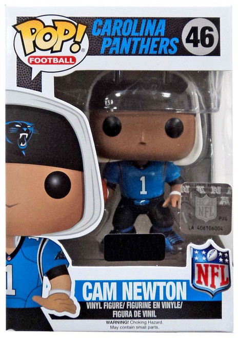 Funko NFL Carolina Panthers POP! Sports Football Cam Newton Exclusive Vinyl Figure #46 [Retro Jersey, Damaged Package]