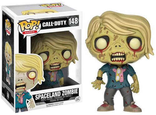 Funko Call of Duty POP! Games Spaceland Zombie Exclusive Vinyl Figure #148 [Damaged Package]