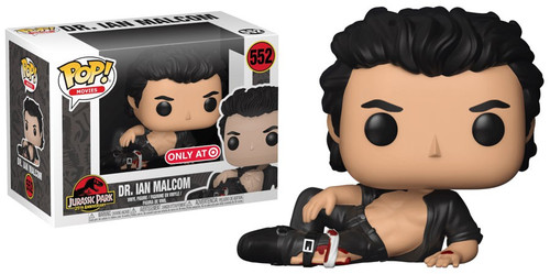 Funko Jurassic Park POP! Movies Dr. Ian Malcolm Exclusive Vinyl Figure #552 [Wounded, Damaged Package]