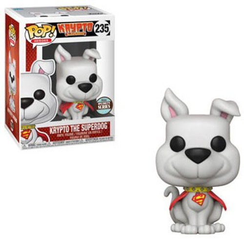 Funko DC POP! Heroes Krypto Exclusive Vinyl Figure #235 [Damaged Package, Specialty Series]