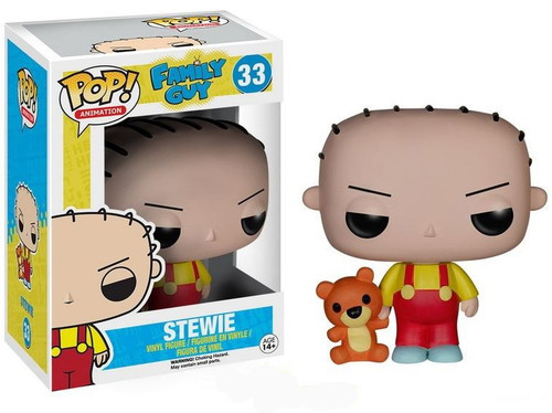 Funko Family Guy POP! Animation Stewie Griffin Vinyl Figure #33 [Damaged Package]