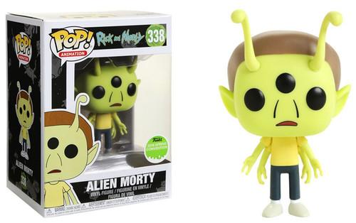 Funko Rick & Morty POP! Animation Alien Morty Exclusive Vinyl Figure #338 [Damaged Package]