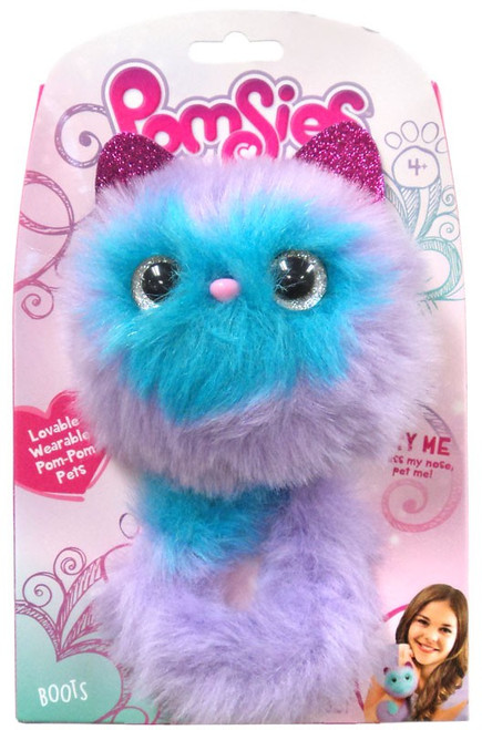 Pomsies Boots Plush Toy [Color Scheme May Vary]