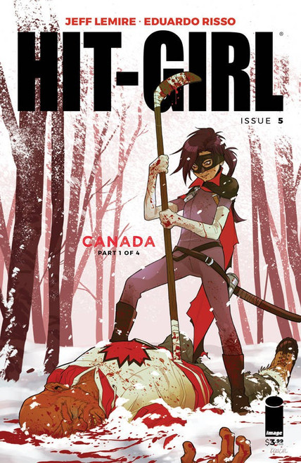 Image Comics Hit-Girl #5 Comic Book [Cover C Kerschl]