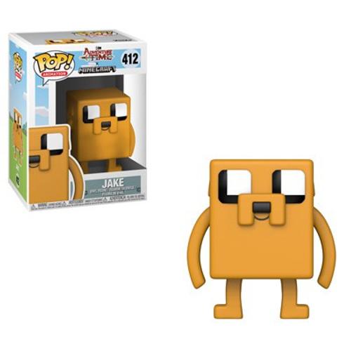 Funko Adventure Time POP! TV Jake Vinyl Figure #412 [Minecraft]