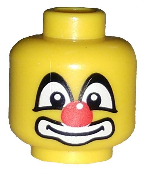Clown Face Minifigure Head [Loose]