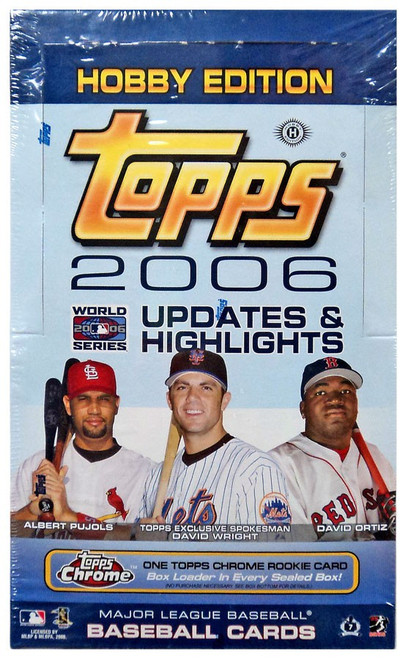 MLB Topps 2006 Updates & Highlights Trading Card HOBBY Box