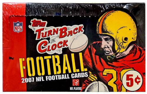 NFL Topps 2007 Turn Back the Clock Trading Card Box