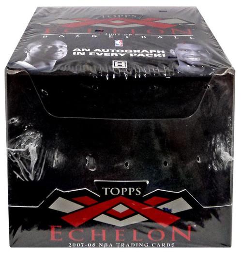 NBA Topps 2007-08 Echelon Basketball Trading Card Box [4 Packs]