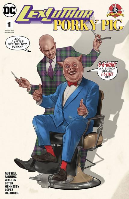 DC Lex Luthor #1 Porky Pig Special Comic Book