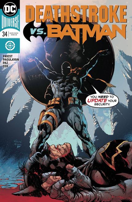 DC Deathstroke #34 Comic Book