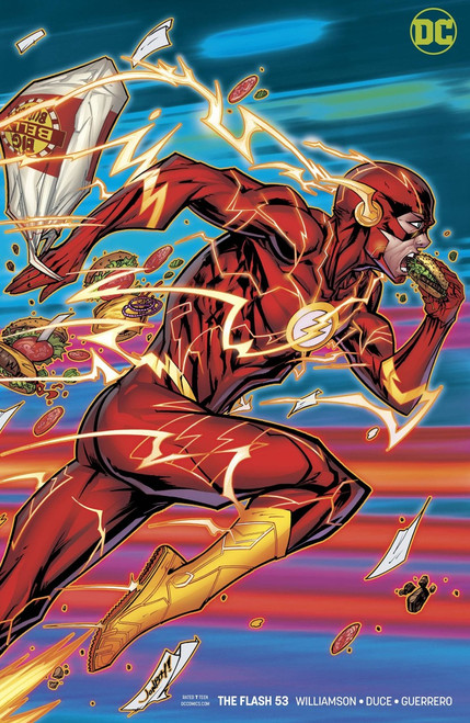 DC The Flash #53 Comic Book [Variant Cover]