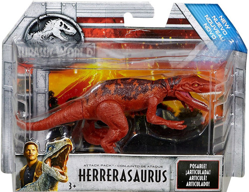 Jurassic World Fallen Kingdom Attack Pack Herrerasaurus Action Figure