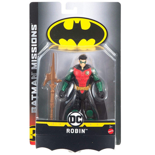 DC Batman Missions Robin Action Figure
