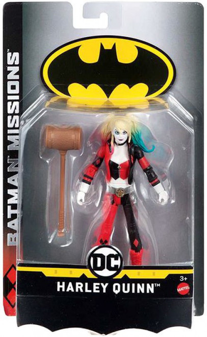 DC Batman Missions Harley Quinn Action Figure
