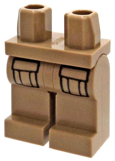 LEGO Dark Tan with Cargo Pockets Loose Legs [Loose]